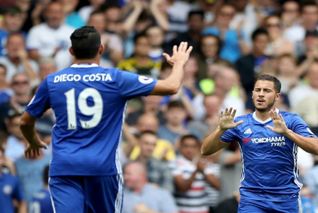 Costa Edge Aguero In EPL Goals 1
