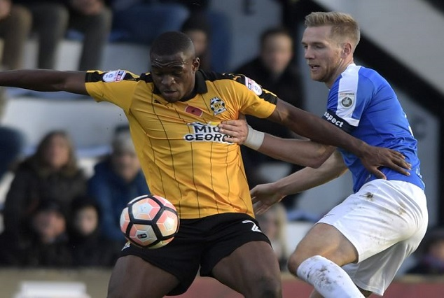 Uche Ikpeazu Signs Extended Deal With Cambridge United 1