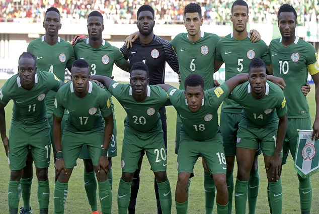 Super Eagles Show Support, As They Donated To Elderson, Akpeyi Weddings 3