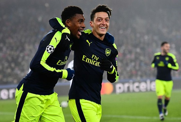 Alex Iwobi Ends Champions League Goal Drought 1