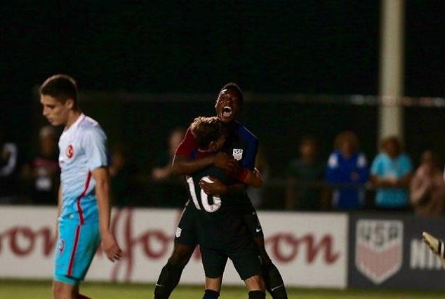 Nigerian Wonderkid Ayomide Akinola Bags Brace For USA U17 Team 1