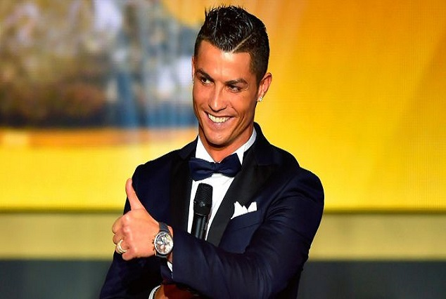 Cristiano Ronaldo Scooped Fourth Ballor D'or 1