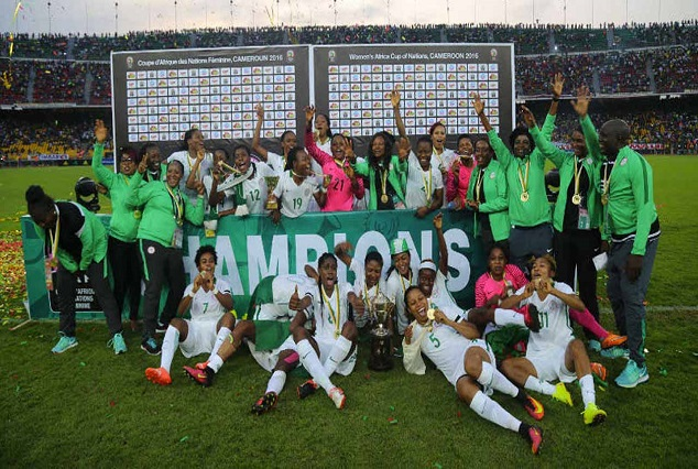 Nigeria Wins Women African Cup Of Nation 1
