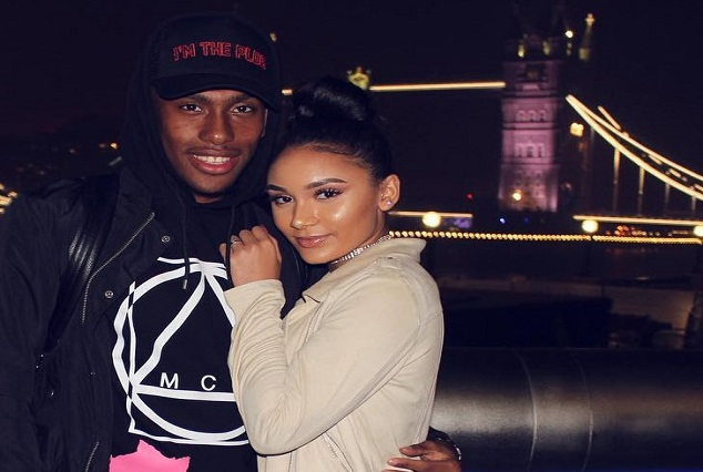 Alex Iwobi And His Girlfriend Classie Juliette Join Arsenal Stars For Event In London 3