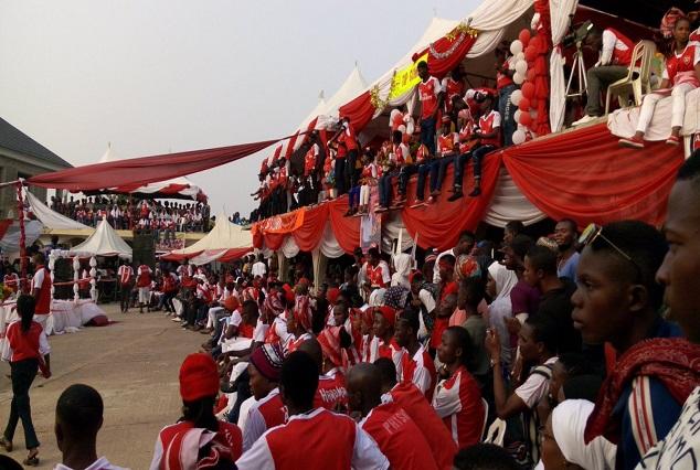Football Loving Fans In Okene Celebrate Arsenal Day 7