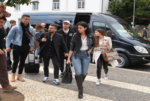 Ronaldo Takes His Girlfriend Georgina Rodriguez To Watch Real Madrid Match 1