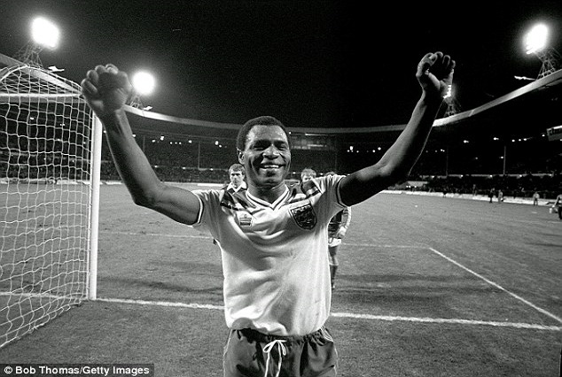Luther Blissett ! First Black Player To Score A Hat-trick 7