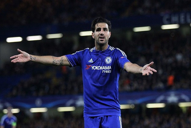 Chelsea Might Fund Fabregas Move To Westham 1