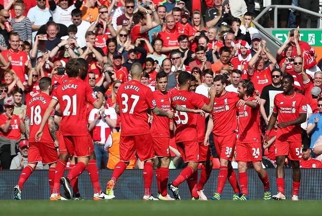Liverpool Top 'Premier League Table' After 6 -1 Win Over Watford 1