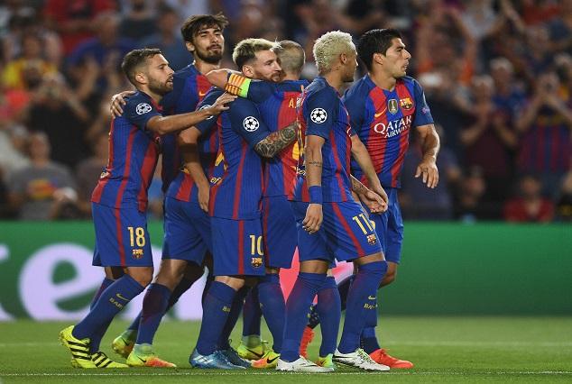 Lionel Messi Attain 500th Goal,as Barca Secure A 2-1 Win Over Sevilla 1