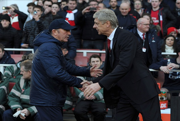 """Tony Pulis - Wenger Wants To Be Carried Out """"in A Box"""" 1"""