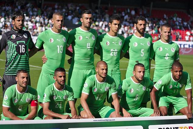 Algeria Land In Uyo Ahead Of Saturday's Clash 3