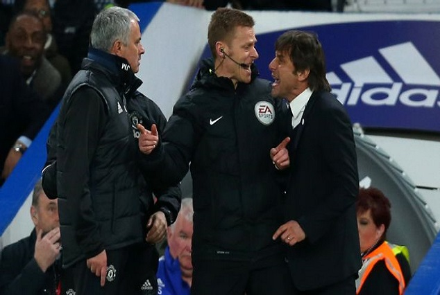 Conte Digs Mourinho About His Tactics - 'i Want To Face Teams Who Want To Play Football' 1