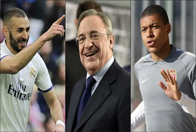Everything Is Possible - Perez Considers Pairing Benzema With Mbappe 1