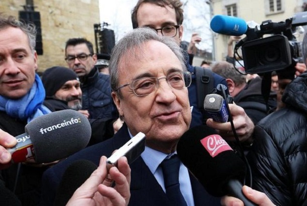 Police Probe Real Madrid President For Suspicious White Powder Package 1