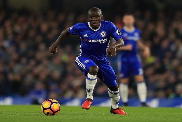 Kante Is Always Everywhere -'I Think I'm Playing With Twins!'- Hazard 1