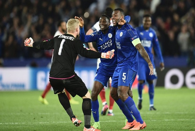 Resurgent Leicester City Sink Sevilla   Ndidi Marshaled Foxes To The Next Round 1