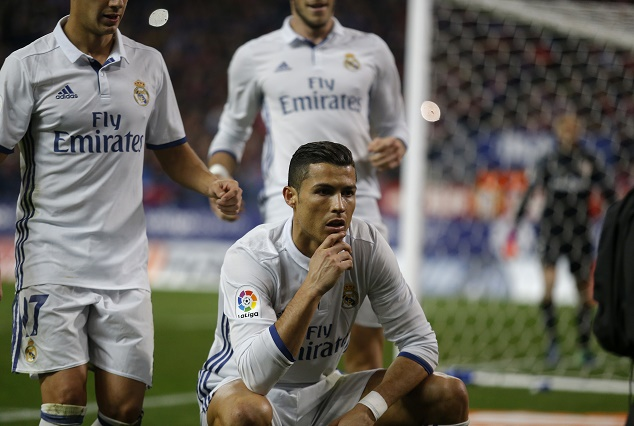 Ronaldo On Song, As He Bags Hat-trick Against Athletico 1
