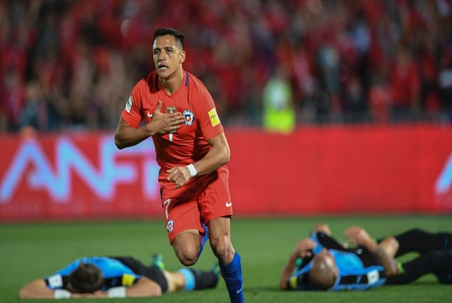 Alexis Sanchez Shut Up Injury Rumours, As He Net Twice For Chile 1