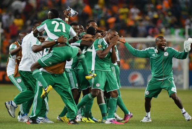 First Batch Of Super Eagles To Arrive London Today 1