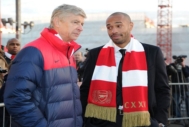 Replace Wenger As Manager ? I Don't Know -Thierry Henry 1