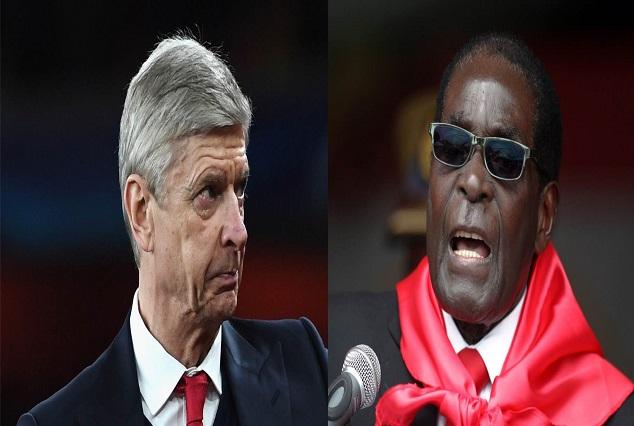 Arsenal Fan Compares Wenger To Zimbabwean Dictator Robert Mugabe 1