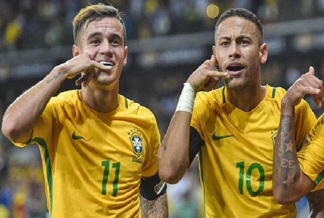 Coutinho Loves To Play With Barcelona Star Neymar 1