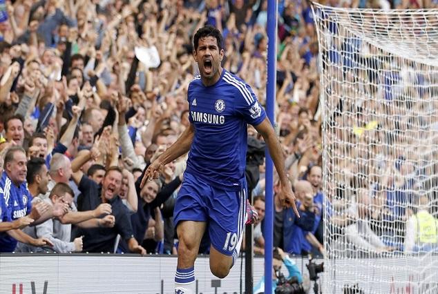 Pedro,Costa Settle Chelsea's Nerve Against Stubborn Swansea 1