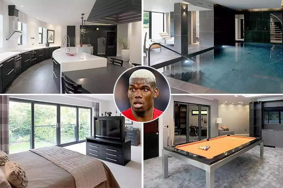 Paul Pogba Buys £2.9m Cheshire Mansion 1
