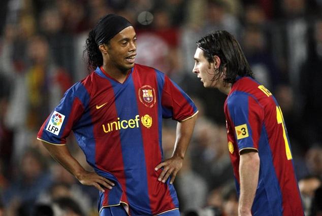 I Need To Teach Messi 'a Little Bit More' - Ronaldinho 1
