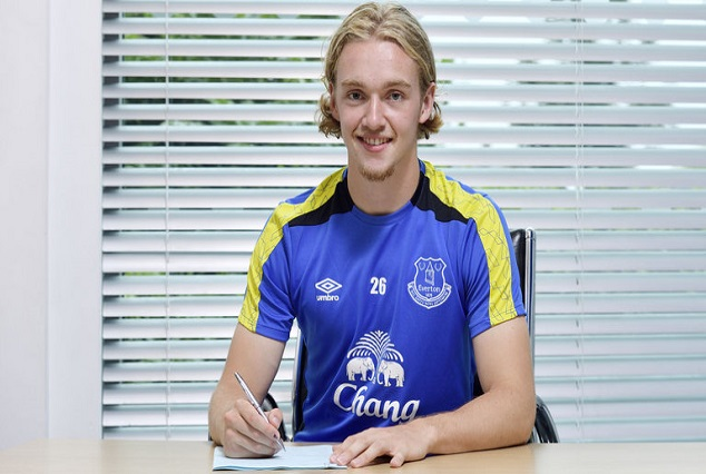 Everton Sign Highly Rated Midfielder Tom Davies On A Five-year Deal 1