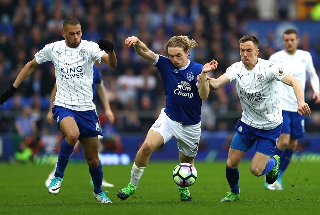 Tom Davies Strike Against Leicester Equals Fastest Goal Record 1