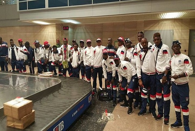 Ifeanyi Ubah Fc Arrive Egypt Ahead Of Their Crucial Second Leg Tie 3