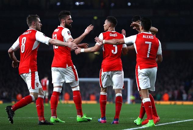 Arsenal Ruin Lincoln City FA Cup Dream 3