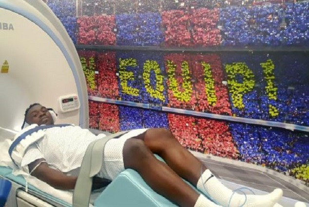 Bassey Spell At Barcelona Comes To A Premature End With A Shoulder Injury 7