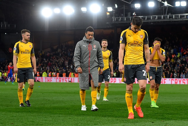 Crystal Palace Humiliate Arsenal To End 38 Years Record 1