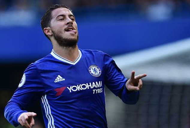 Chelsea's Offer Hazard £350,000 Per Week In Order To Keep Real Madrid At Bay 1