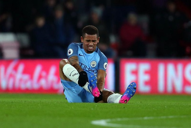 Man-City Star Gabriel Jesus Out For Three Months 1