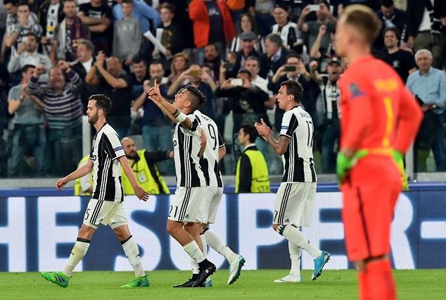 Juventus 3-0 Barcelona: Dybala Outshine Mighty MSN 3