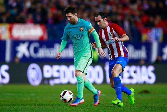 Messi Late Goal Settle Barca's Nerve Against Athletico 1