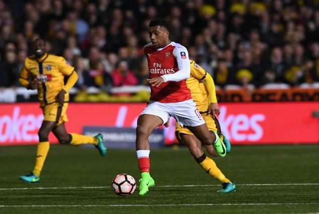 Iwobi Stars As Arsenal See Off Spirited Sutton To Avoid FA Cup Exit 1
