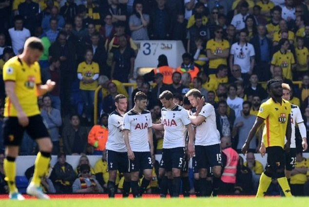 Tottenham Keep Pressure On Chelsea With A 4-0 Win Over Watford 1