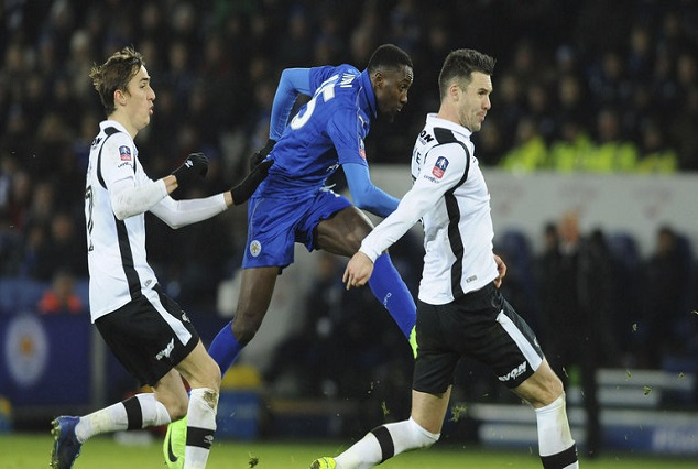 Wilfred Ndidi Wonder Stunner In Extra Time Put Leicester City Ahead 1