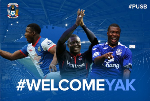 Yakubu Aiyegbeni Seals Short-Term Deal With Coventry FC 1