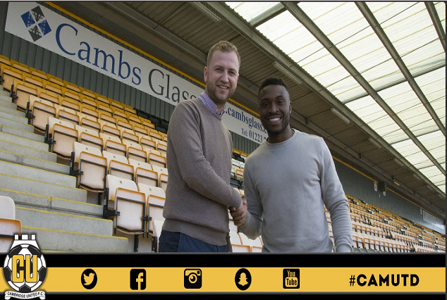 Official- David Amoo Becomes Cambridge United First Summer Signing 7