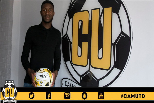 Official : Cambridge United Sign Emmanuel Osadebe On A Two-Year-Deal 3