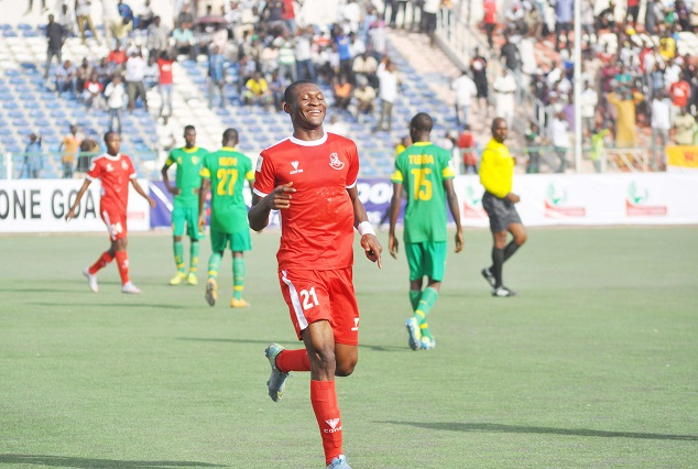 Godwin Obaje : It Is My Dream To Play For The Super Eagles 1