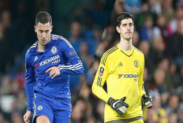 Conte Ready To Clear Out Hazard, Courtois And Any Players Who Wants Out At Chelsea 1