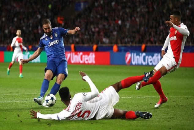 Juventus On Brink Of Champions League Final As Higuain Double Sink Monaco 1