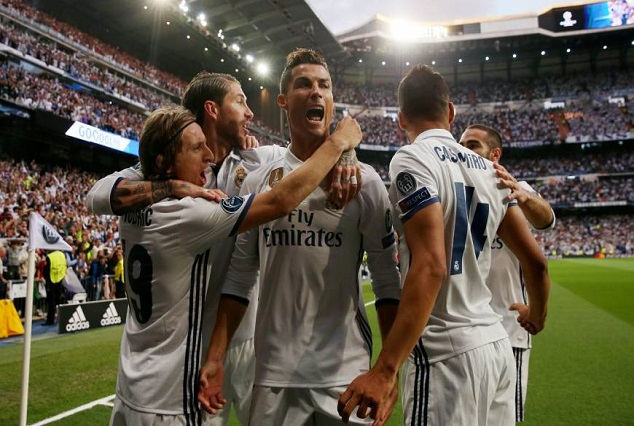 Ronaldo Hat-Trick Destroy Athletico, Puts Madrid On Brink Of UCL Final 5